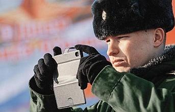 Putin'den askerlere paylaşım yasağı