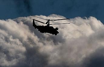 Rusya'da askeri helikopter yere çakıldı.. 4 ölü