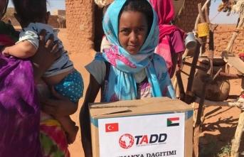 TADD'dan Afrika'daki ihtiyaç sahiplerine gıda yardımı
