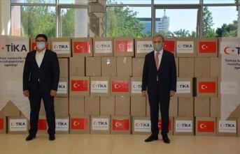 TİKA'dan Özbekistan'da ihtiyaç sahibi ailelere 13 ton gıda yardımı