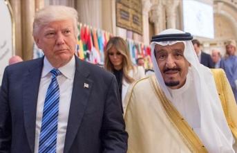 Trump ile Suudi Arabistan Kralı Selman küresel enerji piyasalarını görüştü