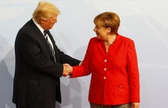 Trump'tan Merkel'e 'İkinci Dünya Savaşı' telefon