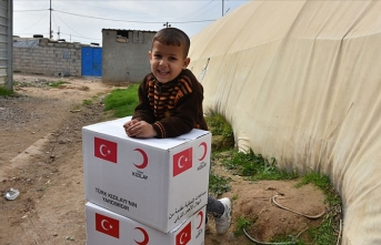 Türk Kızılay Irak'ta ramazan dolayısıyla 4 bin gıda kolisi dağıtacak