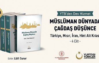 YTB'den Müslüman Dünyada Çağdaş Düşünce kitabı