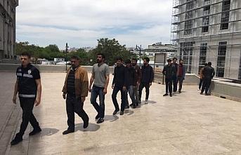 Afganistan uyruklu 16 düzensiz göçmen yakalandı