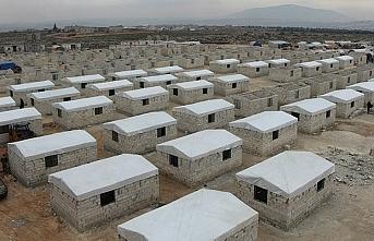 Beşir Derneğinden İdlib'de 7 bin 500 kişiye briket ev