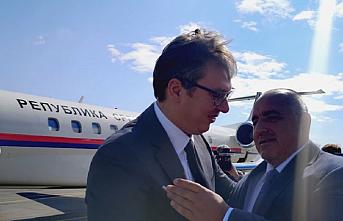 Borisov ve Vucic Bulgaristan'da buluşup Balkan Akımı'nı gezdi