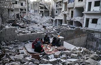 Çorum İHH'nın 19'uncu yardım tırı İdlib'e doğru yola çıktı
