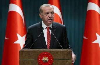 Cumhurbaşkanı Erdoğan, D-8'in 23. kuruluş yıl dönümünü kutladı