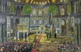 Devlet Bahçeli'den Ayasofya Camii çıkışı