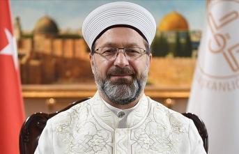 Diyanet İşleri Başkanı Erbaş: Mücadelemiz, Kudüs tamamen özgür oluncaya kadar sürecek