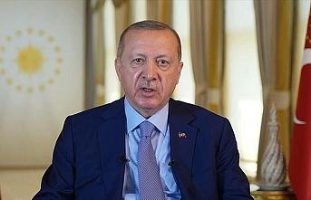 Erdoğan: Göç yükünü tek başımıza omuzlamak zorunda bırakıldık