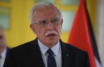 Filistin Dışişleri Bakanı: İlhak kararını iptal etmeden İsrailli yetkililerle görüşmeyeceğiz