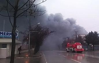 Gaziantep OSB'de fabrika yangını