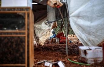 İdlib'de sağanaktan 3 kişi hayatını kaybetti