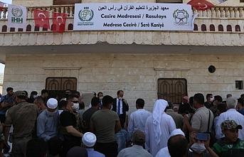 İHH, Rasulayn'da Kuran eğitmenlerini mezun etti