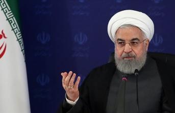 İran Cumhurbaşkanı Ruhani: Petrol ihracatımız artık Hürmüz Boğazı'na göbekten bağlı değil