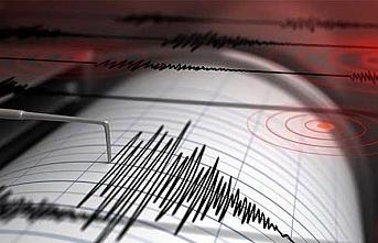 Kaş ilçesi açıklarında 4 büyüklüğünde deprem