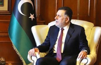 Libya Başbakanı Serrac İtalya Dışişleri Bakanı Di Maio ile görüştü