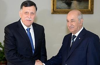 Libya Başbakanı Serrac'dan önemi Cezayir ziyareti