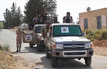 Libya Ordusu Sirte'de Hafter'e bağlı 10 milisi etkisiz hale getirdi