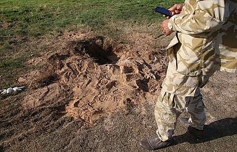 Libya'nın başkenti Trablus'un güneyinde Hafter milislerinin tuzakladığı mayın patladı