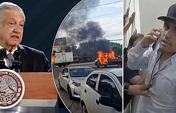 Meksika Devlet Başkanı Obrador'dan şaşırtan itiraf: Talimatı ben verdim
