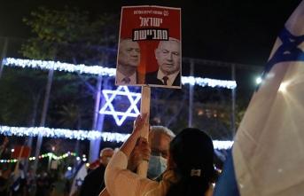 Netanyahu'dan Gantz'a 'Ya ilhaka destek ver ya da seçime gidelim' mesajı