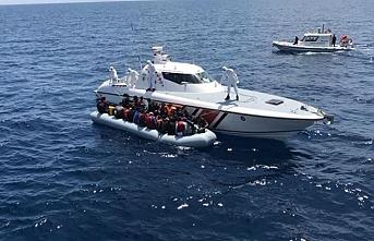 Sahil Güvenlik Komutanlığı 381 düzensiz göçmen yakaladı