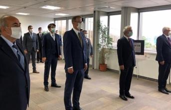 Şehit diplomat Yergüz için Cenevre'de anma töreni düzenlendi