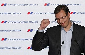 Sırbistan'daki genel seçimde Cumhurbaşkanı Vucic'in partisi önde gidiyor