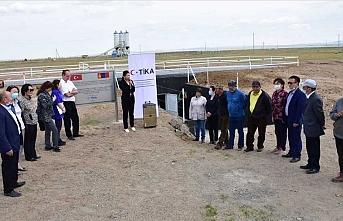 TİKA'dan Moğolistan'a içme suyu deposu yardımı