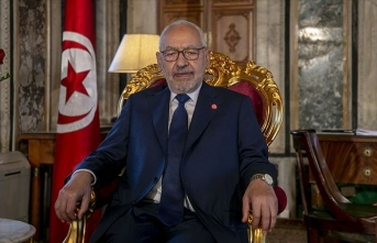 Tunus Meclis Başkanı Gannuşi'den hükümette revizyon sinyali