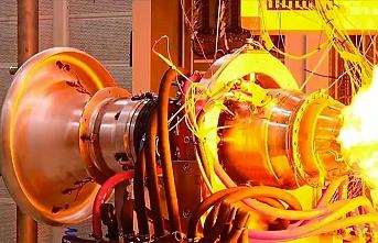 Türkiye'nin ilk yerli füze motoru test edildi