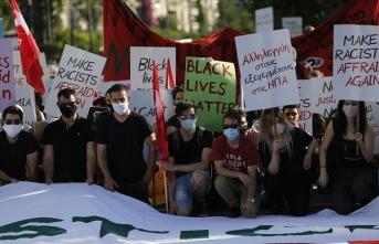 Yunanistan'da George Floyd için gösteri düzenlendi