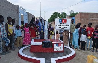 Afrika'da açılan su kuyularına 15 Temmuz şehitlerinin isimleri verildi