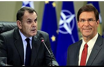 Amerikan ve Yunan savunma bakanları K.Afrika ve D. Akdeniz'de anlaştı