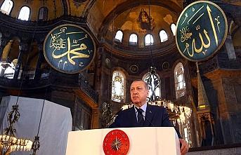 Cumhurbaşkanı Erdoğan: Ayasofya bizim iç meselemizdir