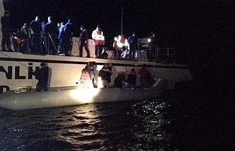 Didim'de 23 göçmen kurtarıldı