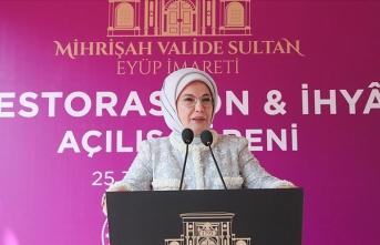 Emine Erdoğan: Vakıf eserleri insanın insana emanet olduğu bilincine sahip olduğumuzun ispatıdır