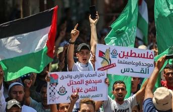 Fetih ve Hamas'tan İsrail'in ilhak planına karşı ortak gösteri düzenleme kararı
