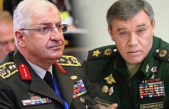 Genelkurmay Başkanı Güler, Rus mevkidaşı ile telefonda görüştü