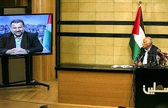 Hamas ve Fetih Hareketi, İsrail'in işgal planına karşı birlik mesajı verdi