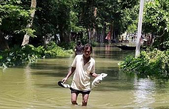 Hindistan'da 79 kişi öldü 100'den fazla hayvan telef oldu