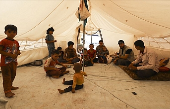 İHH Suriye'de evsizlere umut olmaya devam ediyor