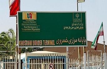 İran ile Irak arasındaki Hüsrevi Sınır Kapısı ticari geçişler için açıldı