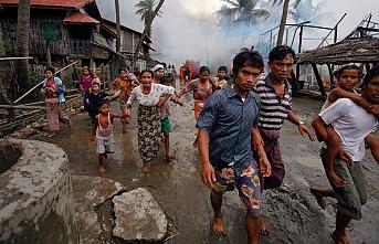 Myanmar'da ordu ile Budist Arakan Ordusu arasındaki çatışmalarda sivil kayıplar artıyor