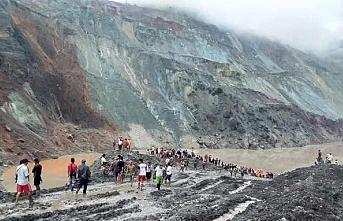 Myanmar'da yeşim madeninde heyelanda113 madenci öldü