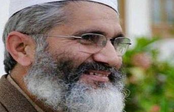 Pakistan Cemaat-i İslami Partisi'nin lideri Siracül Hak'tan Ayasofya paylaşımı