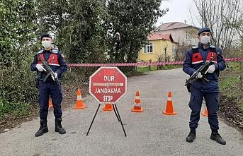 Şanlıurfa'da 96 ev koronavirüs nedeniyle karantinaya alındı